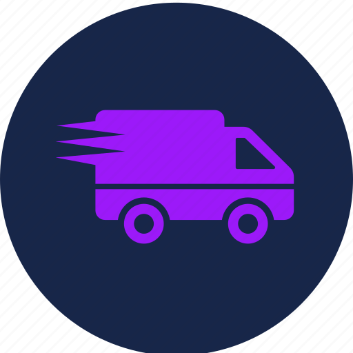 delivery, fast, quick, shipping icon