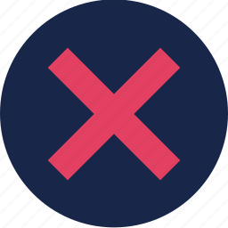 alert, cancel, cross, stop, warning, wrong icon