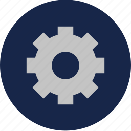 controls, gear, options, settings icon