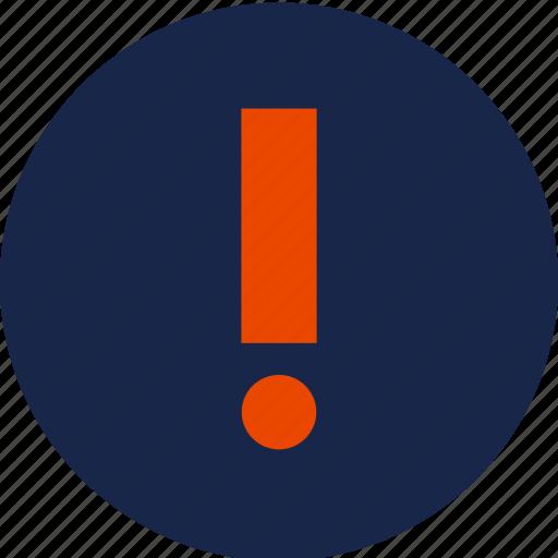 exclaimation, surprise, warning icon