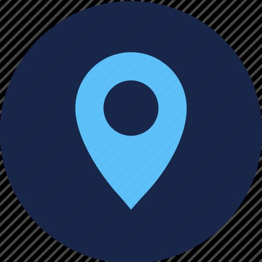 gps, location, map, tracker icon