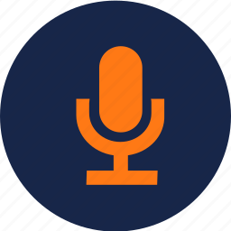 audio record, mic, microphone, record icon