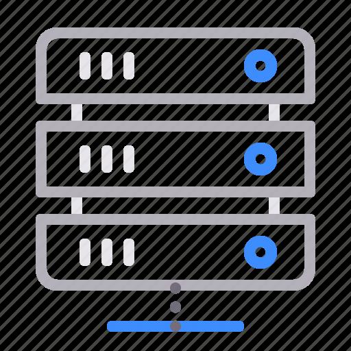 cloud, data base, server, storage icon