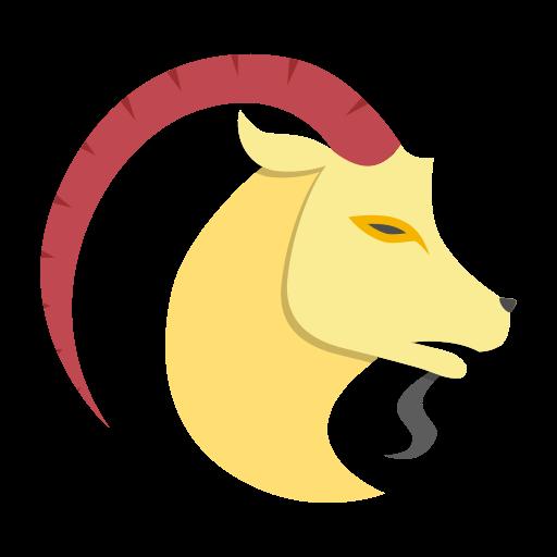 capricon, sign, zodiac icon