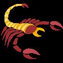 scorpion, sign, zodiac icon