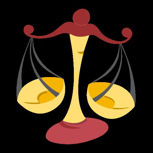 libra, sign, zodiac icon