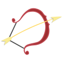 sagittarius, sign, zodiac icon