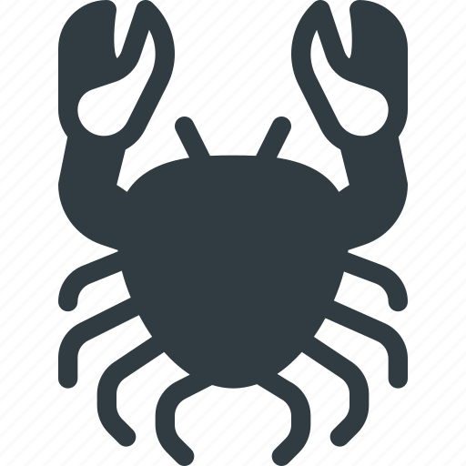 astrology, cancer, horoscope, zodiac icon
