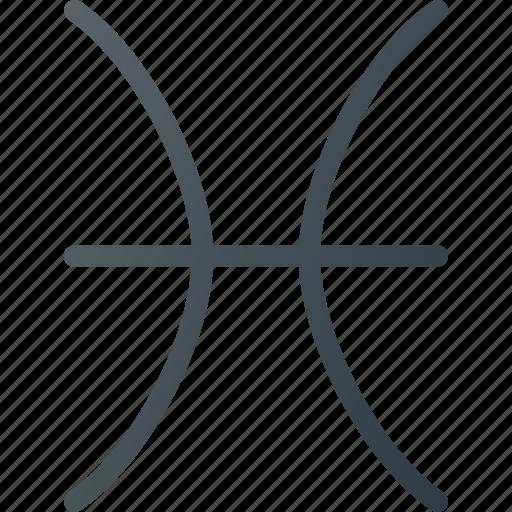 astrology, horoscope, pisces, zodiac icon