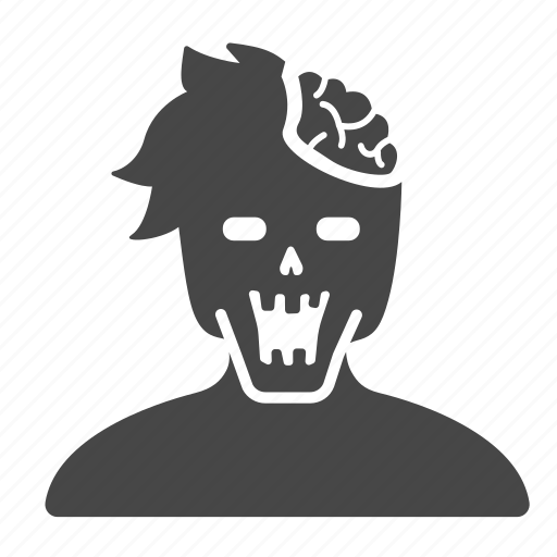 corpse, ghost, halloween, horror, scary, undead, zombie icon