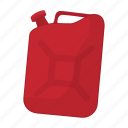canister, fuel, gas, gasoline, oil, petrol icon
