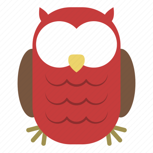 animal, cute, forest, jungle, nature, owl, zoo icon