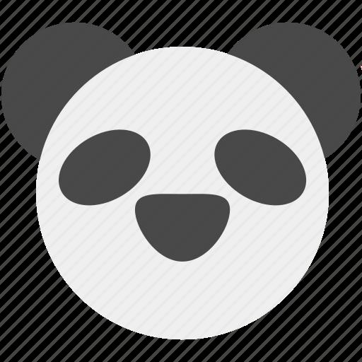animal, cute, forest, jungle, nature, panda, zoo icon