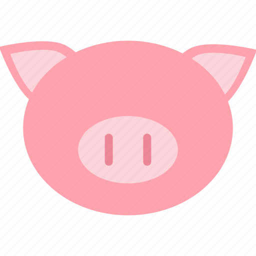 animal, cute, forest, jungle, nature, pig, zoo icon