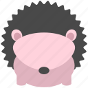 animal, cute, forest, jungle, nature, porcupine, zoo icon