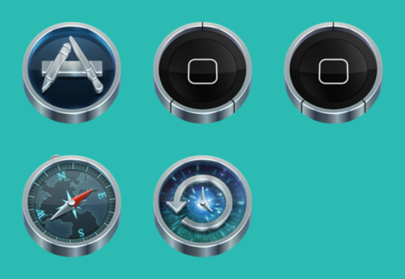 Mac replacements icons icons by