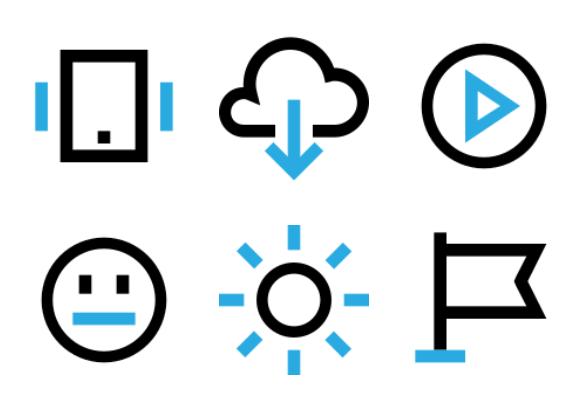 Smartphone Essentials (Very Small) Icons By Kirill Kazachek