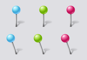Vista Map Markers