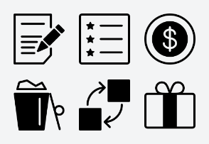 Ad Network Icon (Line with Fill) Set 2