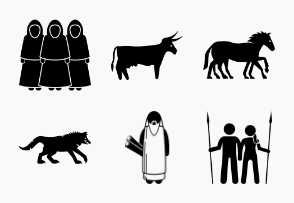 Ancient Norse Mythology People, Monsters and Creatures