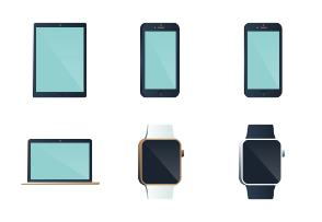 Apple devices (iphone, ipad, ipod, imac, macbook, watch)