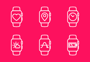 Apple Watch Icon Set