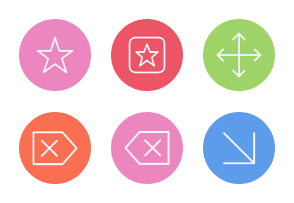 Arrows and User Interface Icons