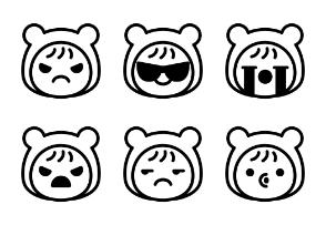 Baby Emoticons Vol.1