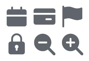 Basic App Glyphs