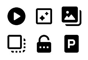 Basic UI Symbols - Vol 7