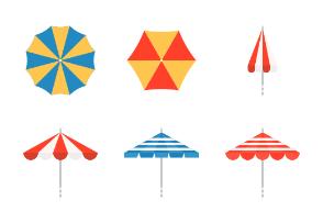 Beach Umbrella (flat)