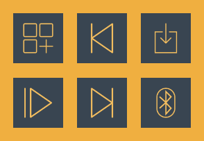 Blue Business Icons 4
