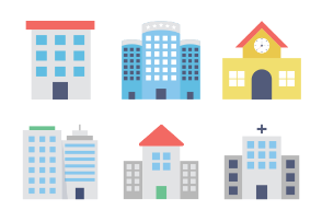 Buildings Colored