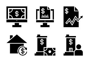 Business and Finance Glyph 29