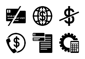 Business and Finance Glyph 3