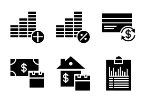 Business and Finance Glyph 30