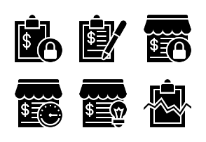 Business and Finance Glyph 8