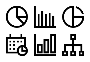 Business Charts and Diagrams Line