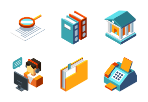 Business Management - Isometric Awesome Design