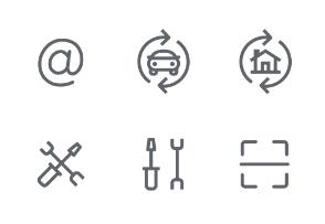 Business / Shop / Finance Symbols Set 3