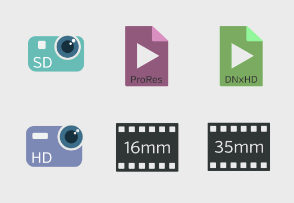 Camera and video workflow flat version