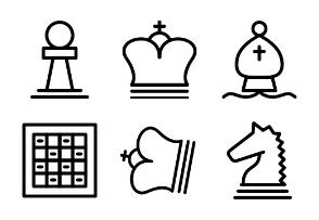 Chess Line Set