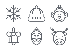 Chistmas Set | Pixel Perfect Icons