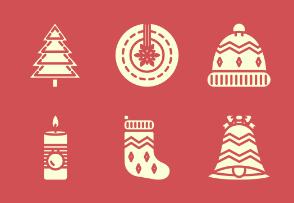 Christmas Festive - Glyph