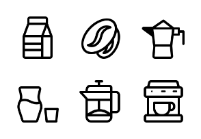Coffee (Line style)