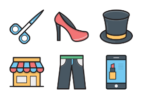 Colored Vector Icons 12