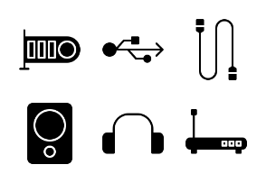 Computer and Hardware (glyph/solid)