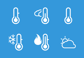 Cool me down thermometers
