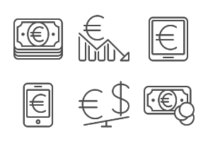 Currency - Euro - Set 2
