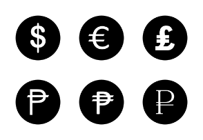 Currency Icons 1